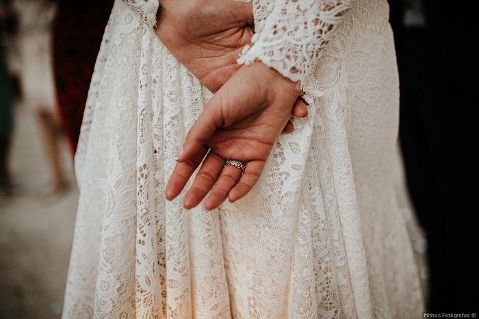 ¿En qué mano llevarás tu alianza de boda? 1