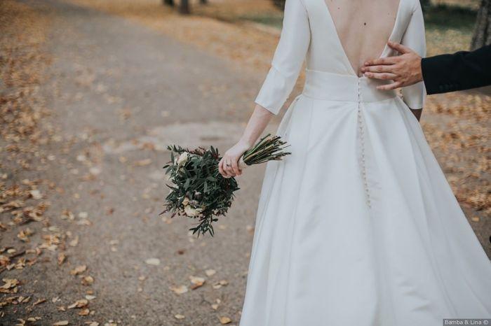 ¿Te has probado varias veces tu vestido de novia? 👗 1