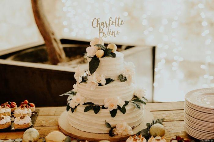 ¿Decoraréis la tarta nupcial con vuestros nombres? 🍰 1