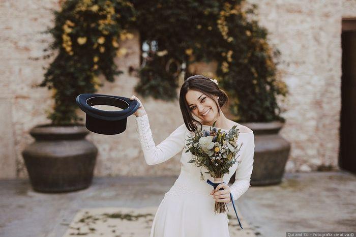 ¿Has atrapado el ramo nupcial en una boda? 1