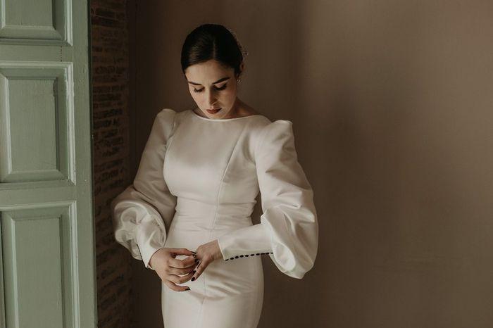 ¿Eres fan de las mangas de este vestido? 😍 1