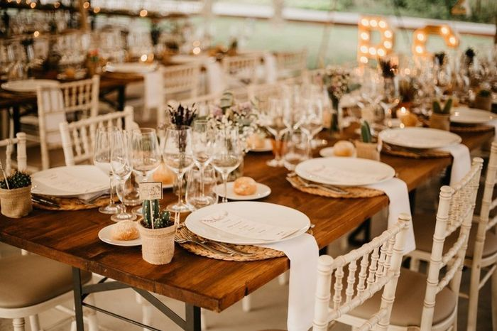 Tus mesas: ¿rectangulares o redondas? 2