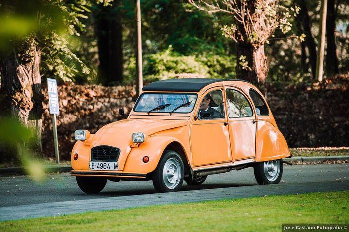 El coche nupcial: ¿moderno o clásico? 🙊 1