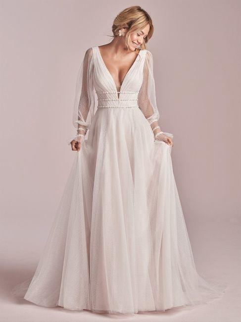 ¿Te atreverías a llevar este vestido en la boda? 😎 1