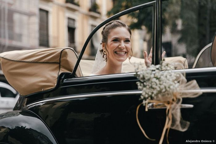 ¿Llegada a la ceremonia en coche o andando? 2