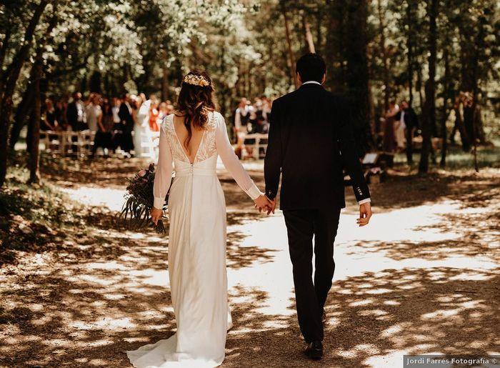 ¿Quién escogió el lugar de la boda? 1