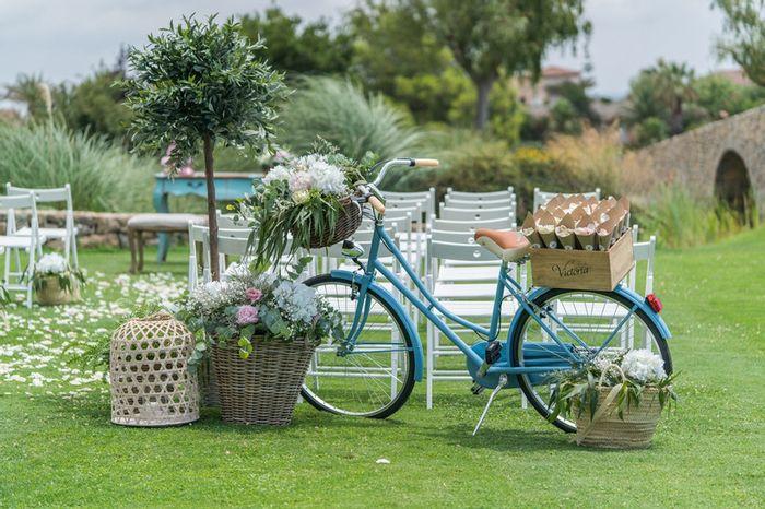 Boda con bicicletas, ¿Sí o No? 1