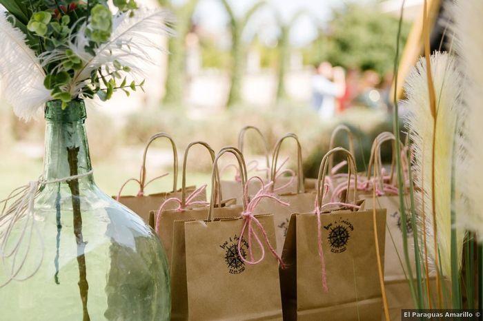 ¿Qué detalle te gustaría encontrar dentro de estas bolsas? 🙊 1