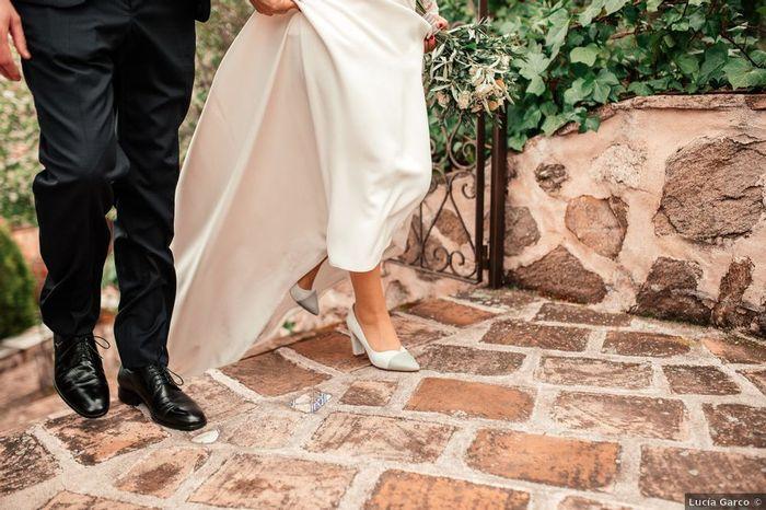 Los zapatos: ¿blancos o de color? 2
