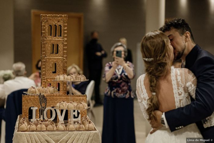 ¿Presentarías así los postres de vuestra boda? 🍰 1