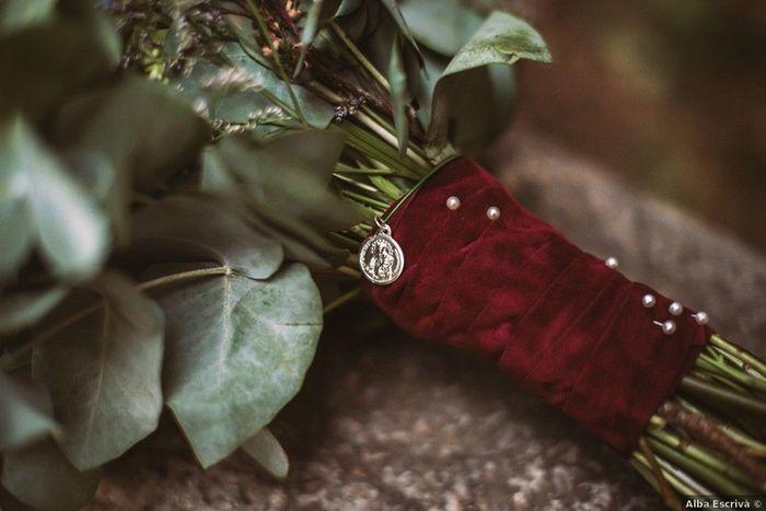 Camafeo en el ramo de novia, ¿Sí o No? 💐 1