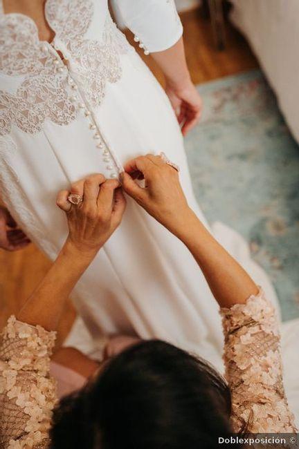 Gravar as tuas iniciais no vestido de noiva... sim ou não? 1