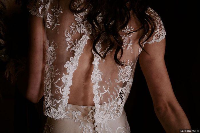 Espalda transparente: ¿te atreverías a llevarla en la boda? 😏 1