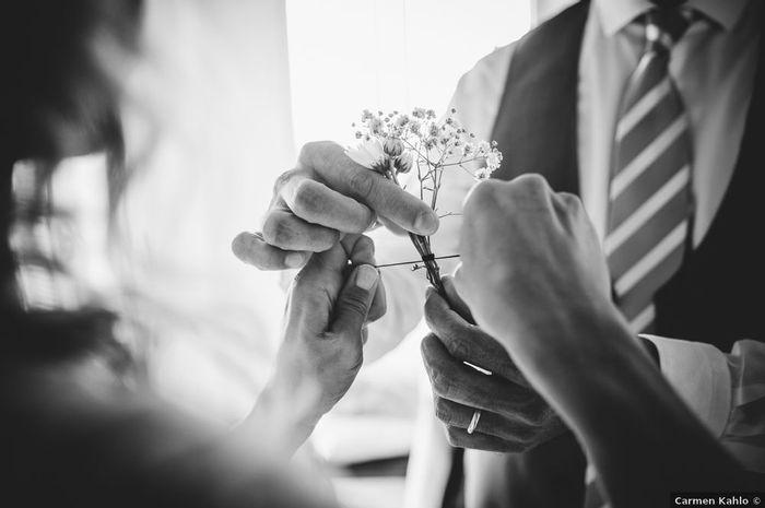 ¿Prendido de flores naturales o preservadas? 🤔 1