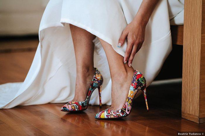 Se não tivesses outros sapatos disponíveis, casavas com estes? 😍 1