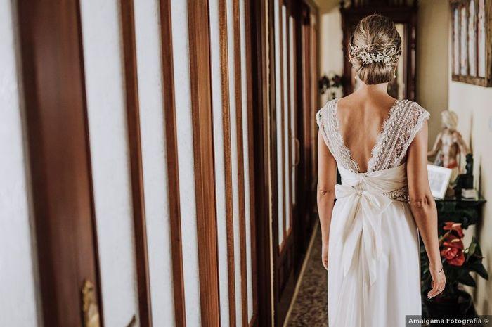 Espalda descubierta: ¿siempre con recogido? 🤔 1