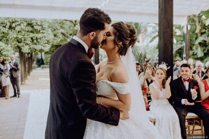 ¿Qué harías si tu pareja llega tarde a la ceremonia? 🙈 1