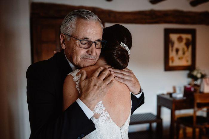¿Qué detalle especial le darás a tu padre en la boda? ❤️️ 1