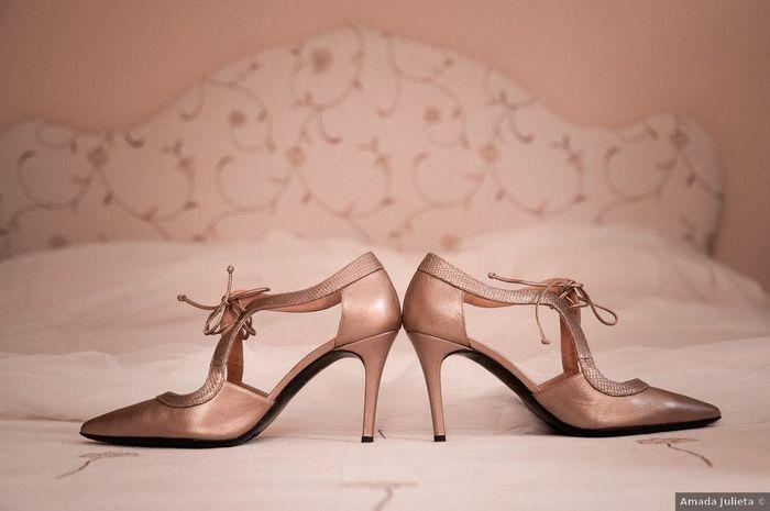 Si estos zapatos llaman a tu puerta... ¿Te los pondrías para la boda? 🤔 1