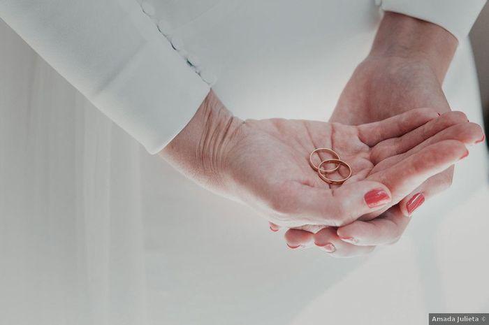 ¿Habéis comprado vosotrxs las alianzas o son un regalo? 💍 1