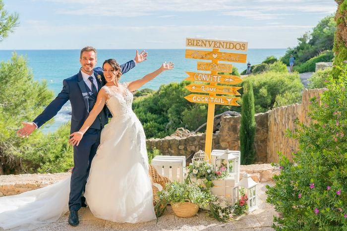 ¿Tendréis carteles señalizadores en la boda? 1
