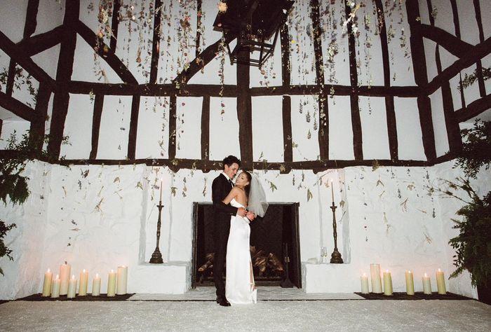 ATENCIÓN: ¡Te enseñamos los detalles de la boda secreta de Ariana Grande! 👇 1