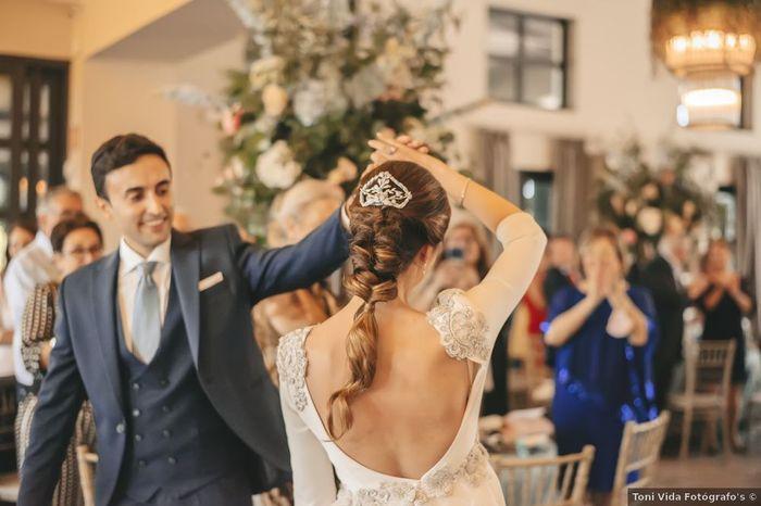 ¡Quiero un recogido como el de Elena para mi boda! 💜 1