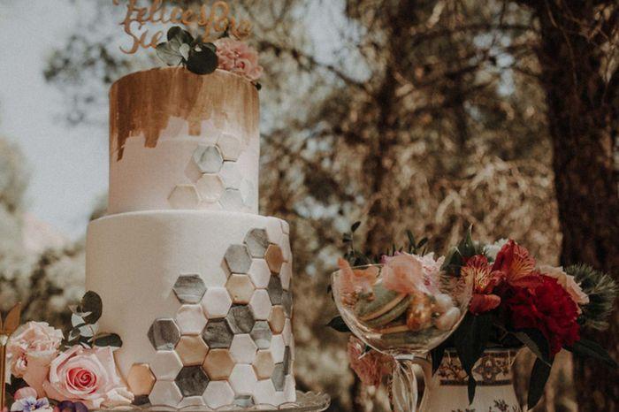 ¿Qué fue primero decidir el menú o la tarta? 2