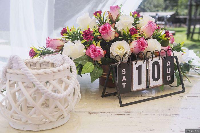 ¿Cuántos días quedan para tu boda? ⏳ 1