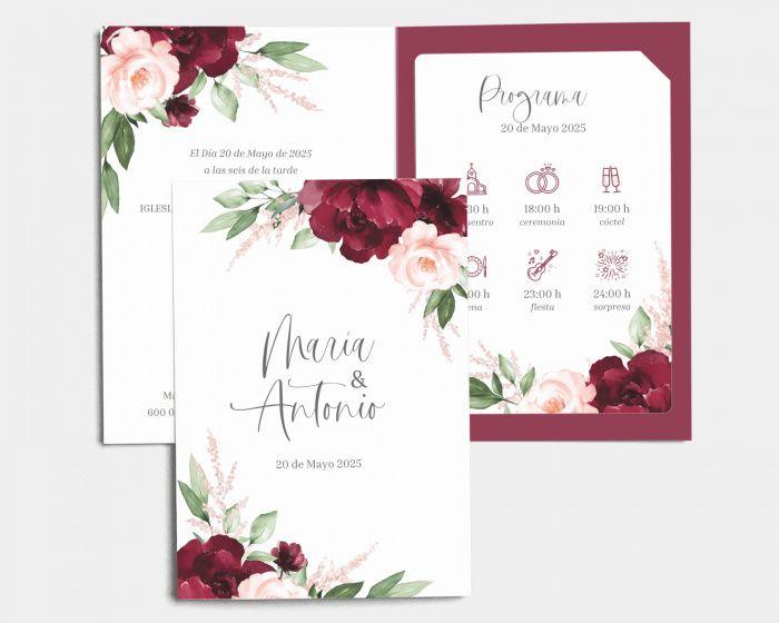 Mis invitaciones: ¿con motivos florales? 2