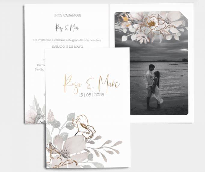 Mis invitaciones: ¿con foto en blanco y negro? 2