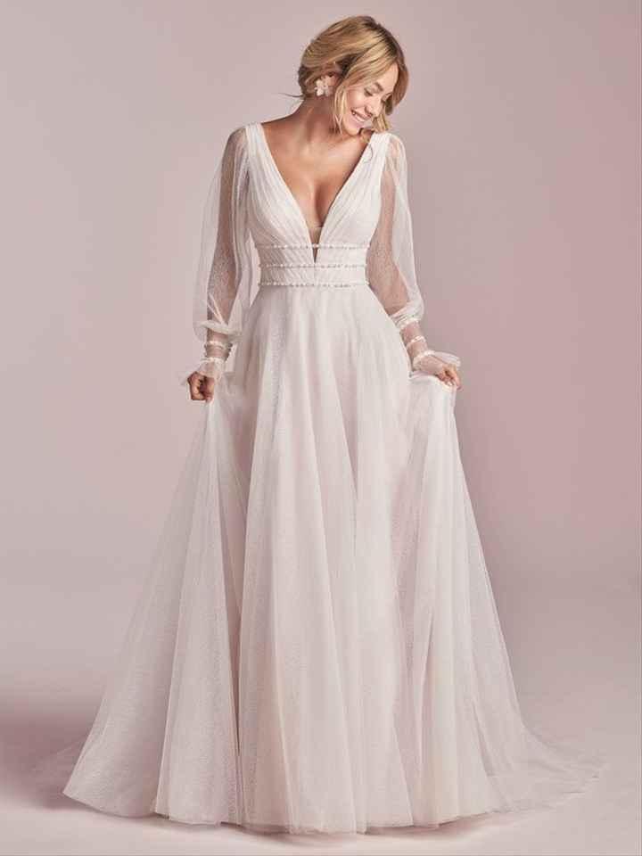 ¿Te atreverías a llevar este vestido en la boda? 😎 - 1