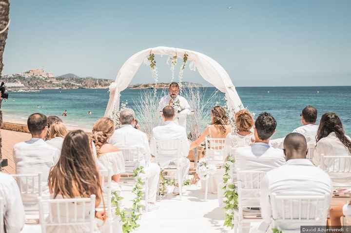 ¿Y si en vuestra boda todxs vais vestidos de blanco? 😮 - 1