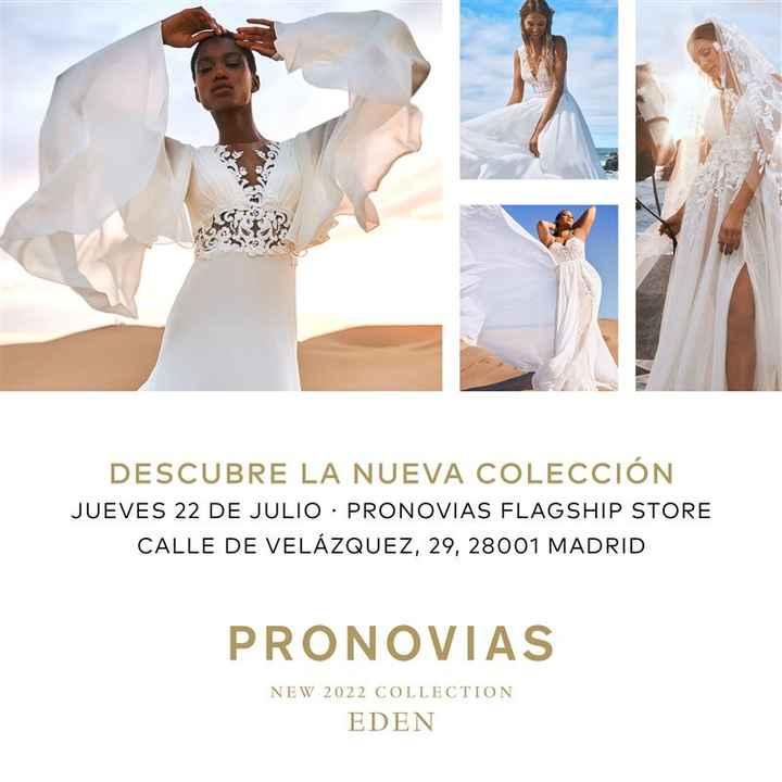 EVENTAZO: ¡Presentación de la colección Edén de Pronovias con Alessandra Rinaudo! 👇 - 1