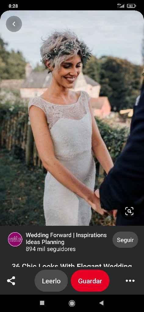 ¿Como se pone una tiara con pelo corto? - 2