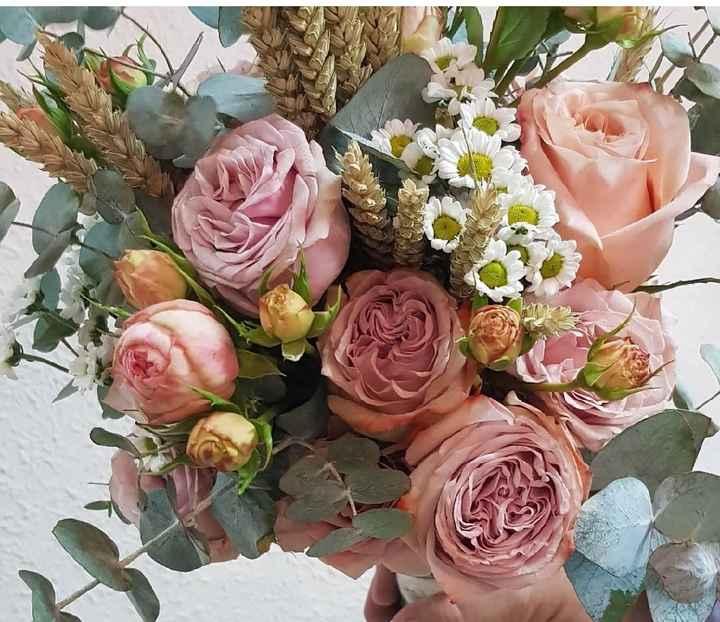 5 ramos de novia con toques ROSAS 💗 - 1