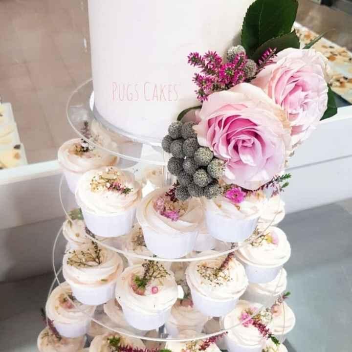 ¿Qué tipo de tarta es la vuestra? ¿qué os parece un estilo con flores? - 1