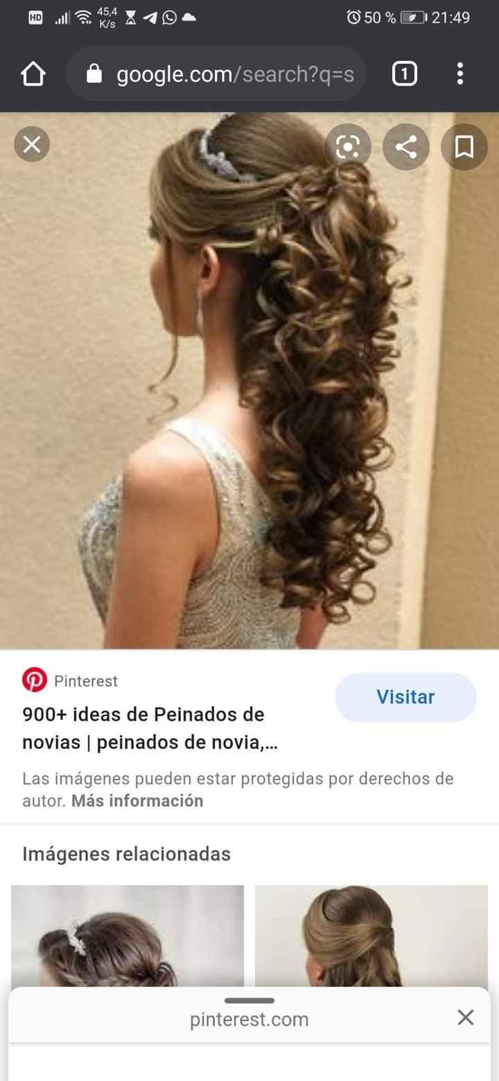Un peinado que me encanta 😍 😍 😍 😍 😍. - 1