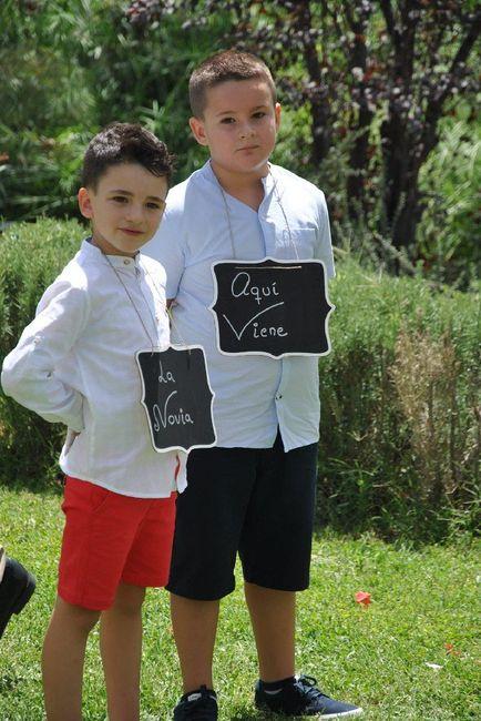 Cómo involucrar a mis sobrinos en la boda? 2