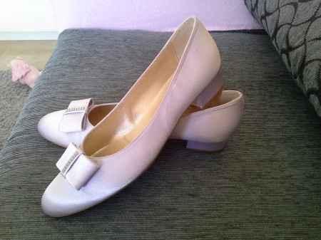 zapatos lila