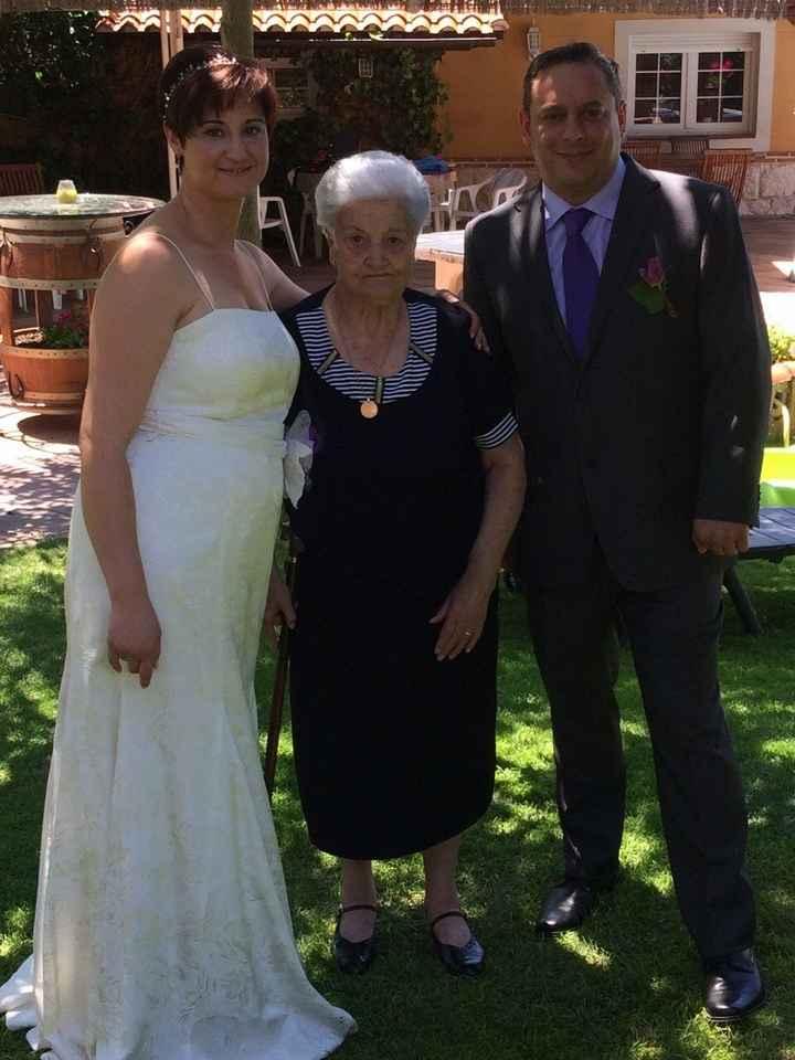 Mi abuela tiene 92 años y es la más mejor ;-)