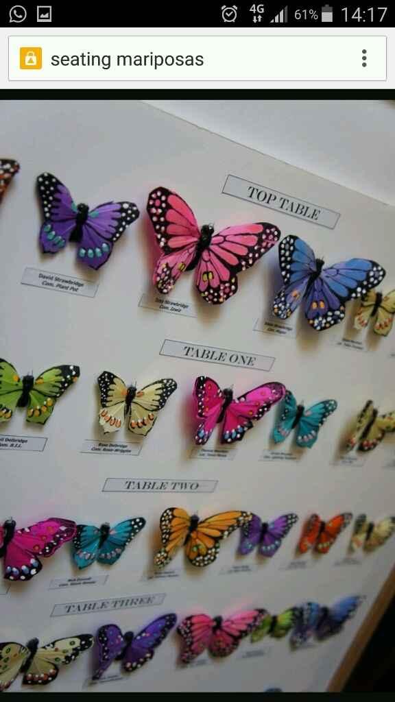 Sitting de mariposas - 7