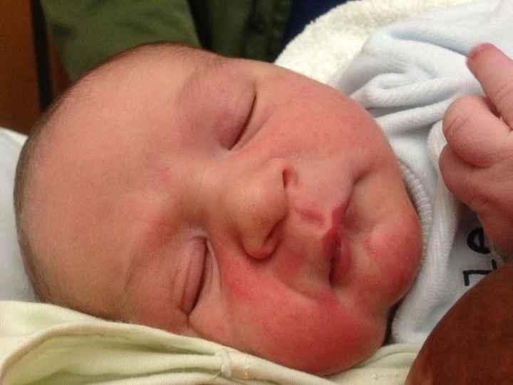 Hugo - el bebe de Marina