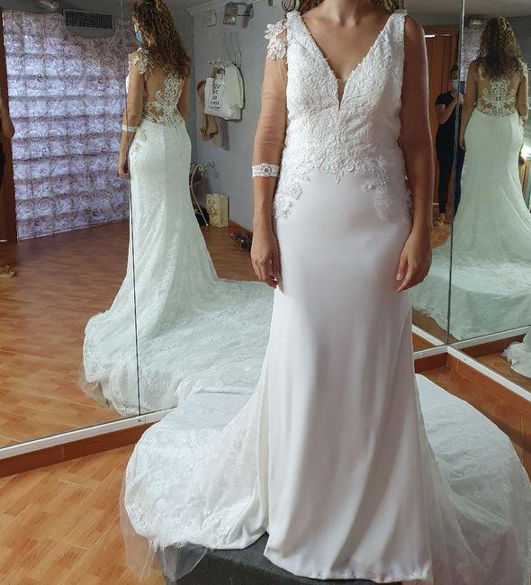 Hola chicas tengo mi primera prueba del vestido de novia, el traje lo elegí o mejor dixo me eligió a