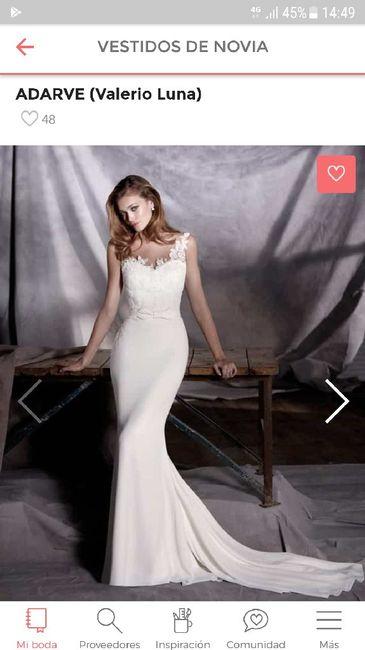Vestidos de novia de valerio luna 2019