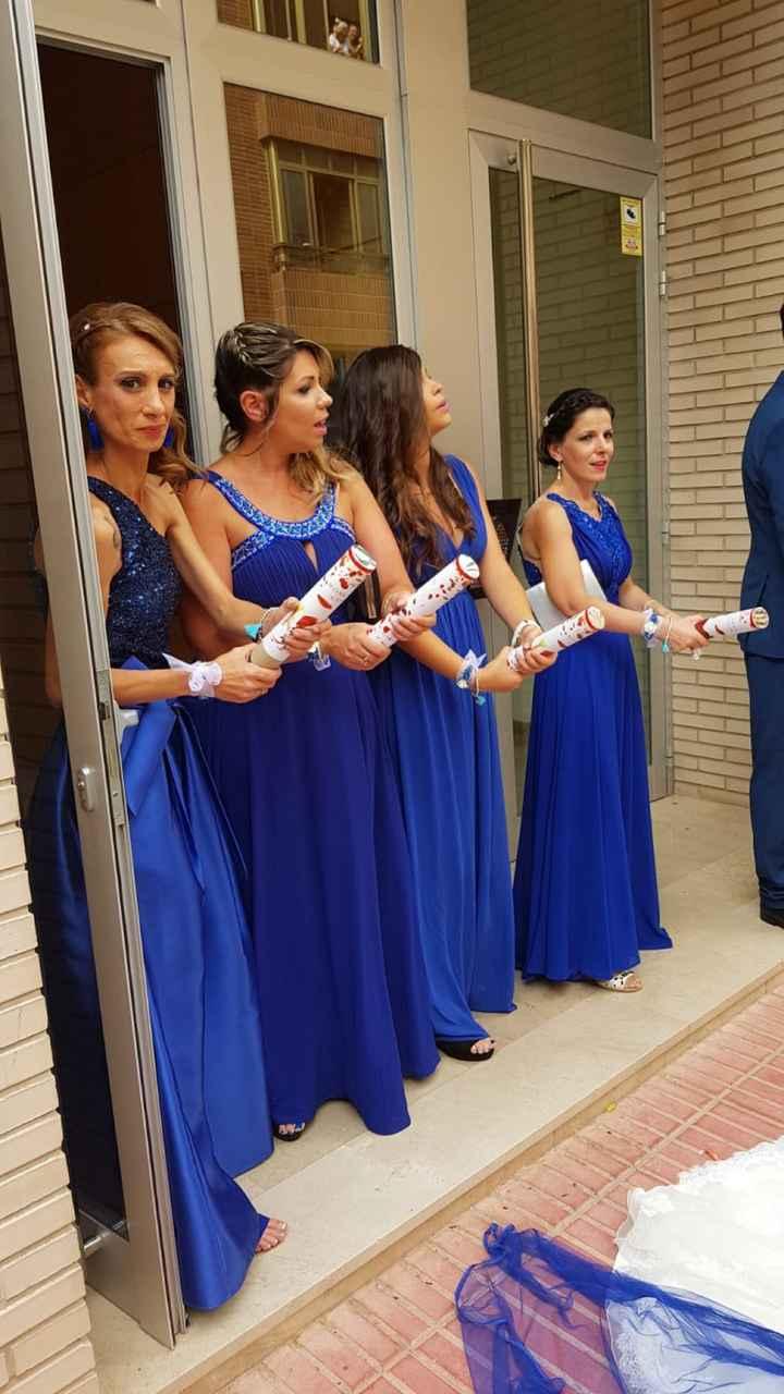 """""""la novia de azul"""" me he ganado el apodo a pulso, nuestro día ya paso... - 2"""