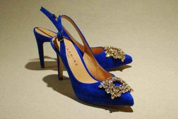 Zapatos novia azules - 1