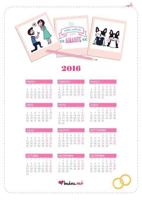 Ya tengo mi calendario - 1