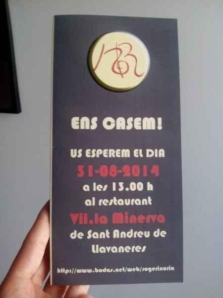 Nuestras invitaciones! :)