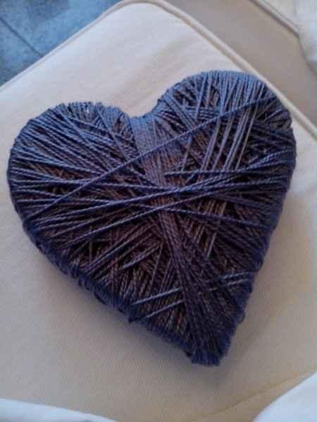 Corazón porta-alianzas